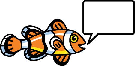 Clown Fish Stock Vector - 24304676