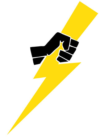 GRAINY: Lightning Bolt Illustration