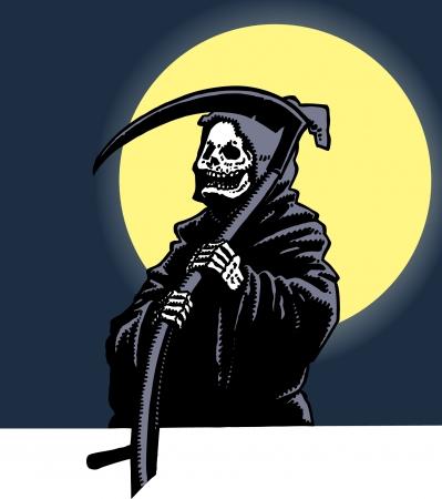grim reaper: Grim Reaper Illustration