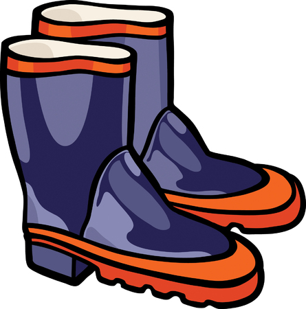 gumboots: Gumboots Illustration