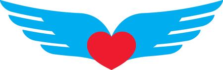 corazon con alas: Alas del coraz�n