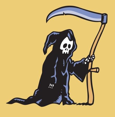 Grim Reaper Stock Vector - 24305913