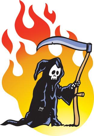 reaper: Grim Reaper Illustration