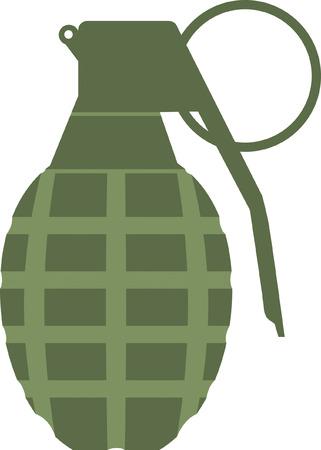 Hand Grenade Stock Vector - 24305943