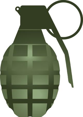 grenade: Hand Grenade Illustration