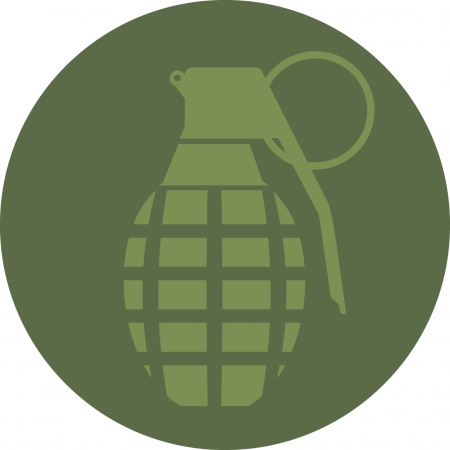 hand grenade: Hand Grenade Illustration