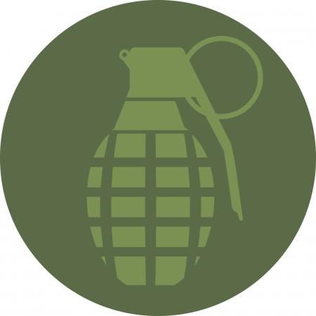 hand grenade: Hand Grenade Illustration