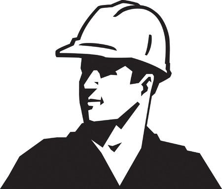 Construction Guy Illustration