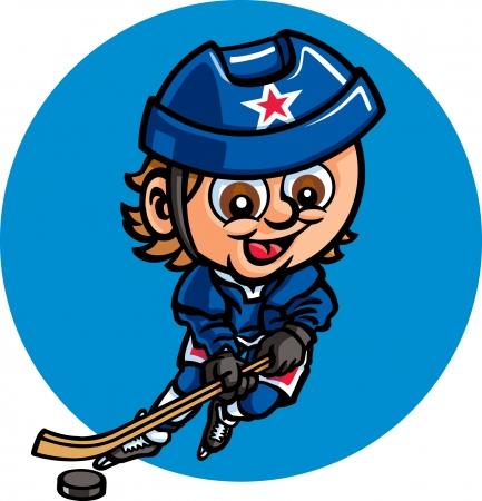 Ice Hockey Stock Vector - 24305278