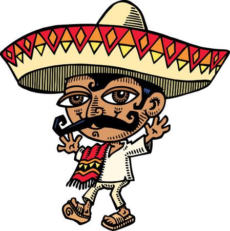 traits: Mexcian Illustration