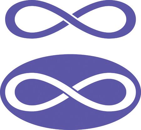simbolo infinito: Infinito