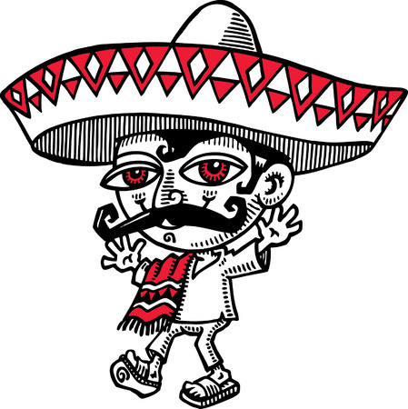mexican ethnicity: Mexican Man