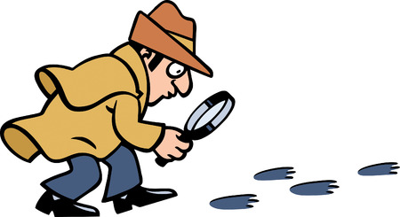 policia caricatura: Inspector