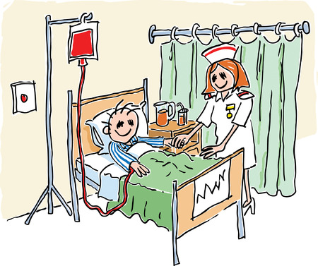 hospital cartoon: Hospital