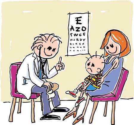 Eye Check Stock Vector - 24305096