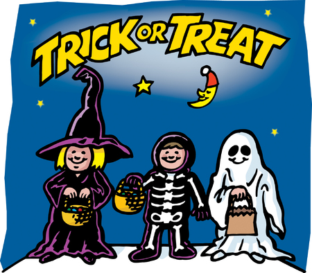 Trick or Treat Stock Vector - 24305107