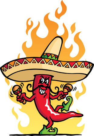 Mexico Pepper Vector