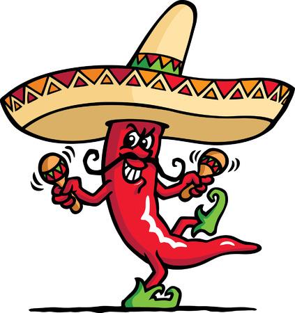 Mexico Pepper Vector