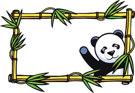 giant panda: Panda Frame