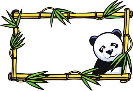 shape cub: Panda Frame