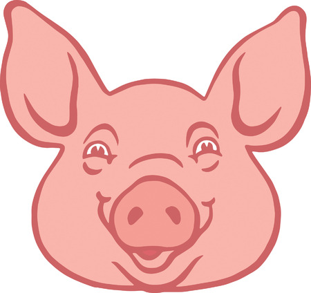 Pig Stock Vector - 24469858