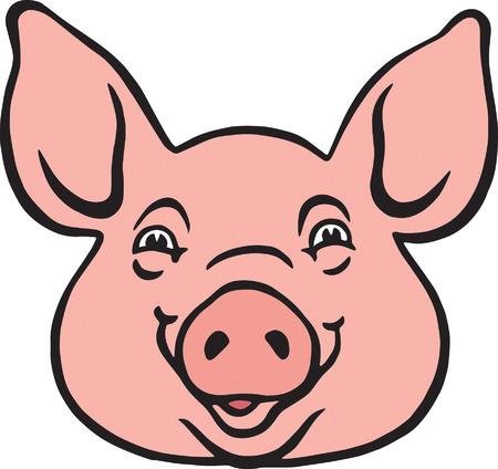 pig farm: Pig