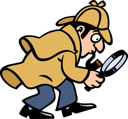 investigator: Detective Illustration