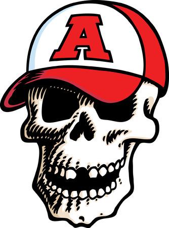 Skull Cap Stock Vector - 24465011