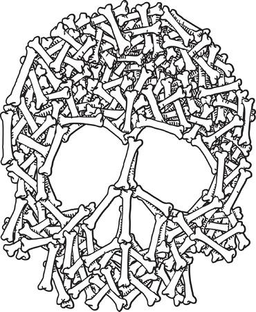 Skull and Bones Stock Vector - 24465043