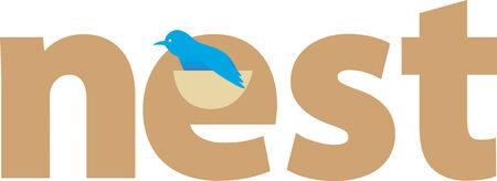 fantail: Nest