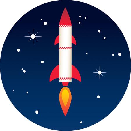 Rocket Stock Vector - 24465336