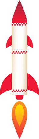 vapor trail: Rocket