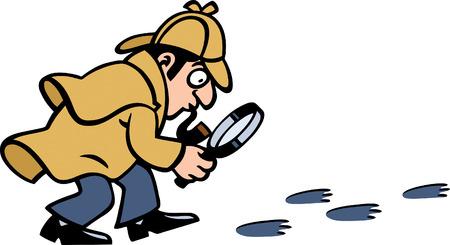 Detective Иллюстрация