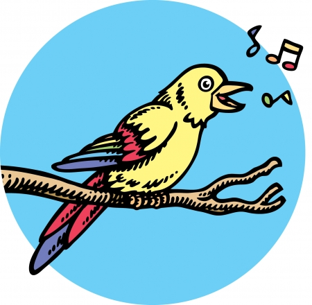 birdsong: Singing Bird