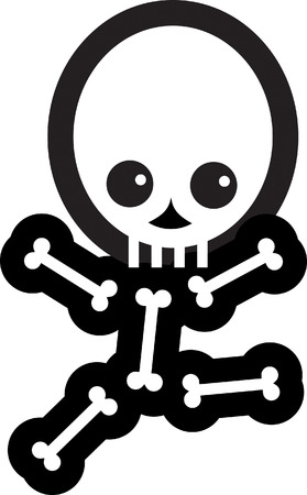 Skeleton Stock Vector - 24465454