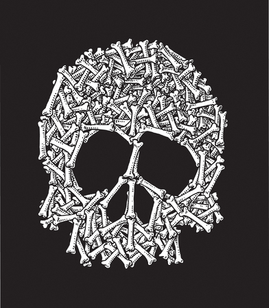 Skull and Bones Stock Vector - 24465550