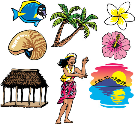 polynesian ethnicity: Tropical