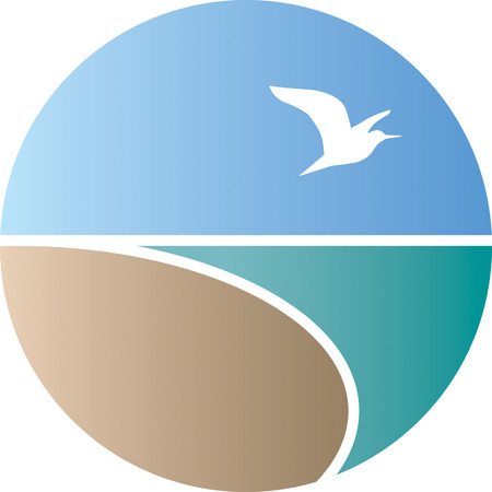 blue heron: Coast Illustration