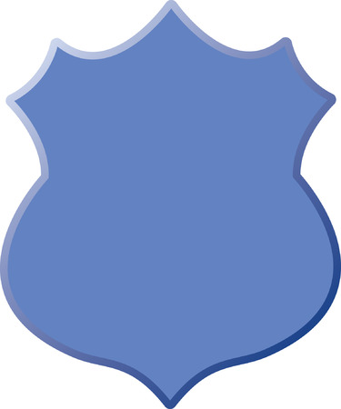 police badge: Security Badge Illustration