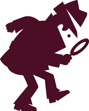 Detektiv Standard-Bild - 24866110