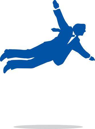 environmental suit: Falling