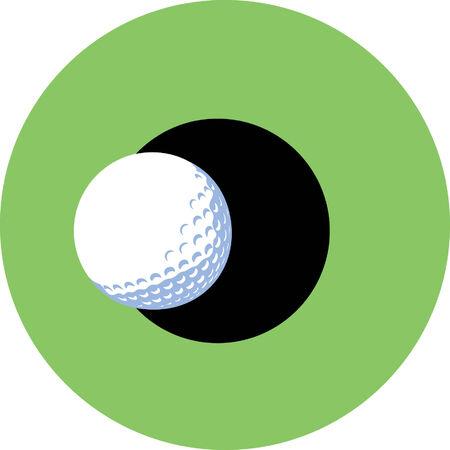 sports symbols metaphors: Golf