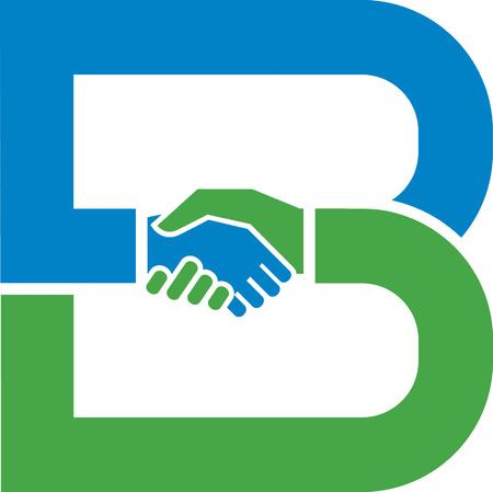 hombres de negocios: Apret�n de manos Vectores