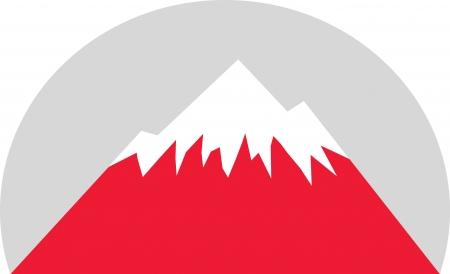 new zealand landscape: Mountain Illustration