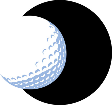 pelota caricatura: Pelota de golf