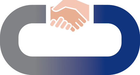 equal opportunity: Hand Shake Illustration