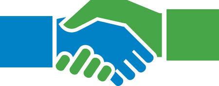 Hand Shake Illustration