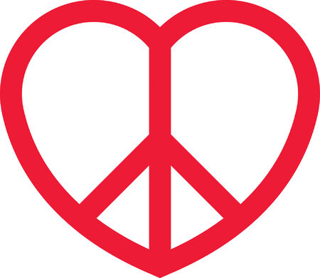 Heart Peace Illustration