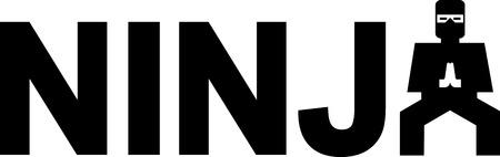 Ninja Stock Illustratie