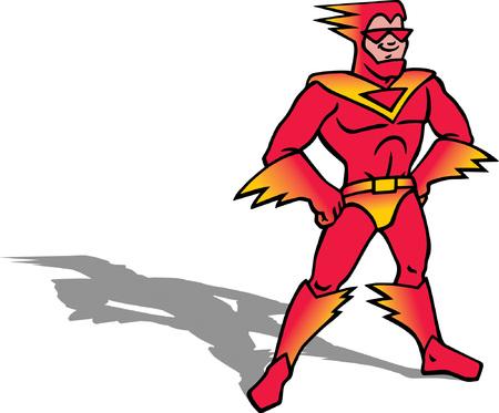 Superhero Ilustração